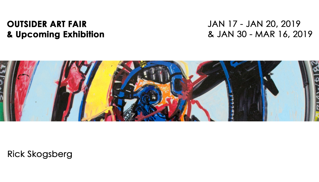 OUTSIDER ART FAIR & Upcoming Exhibition