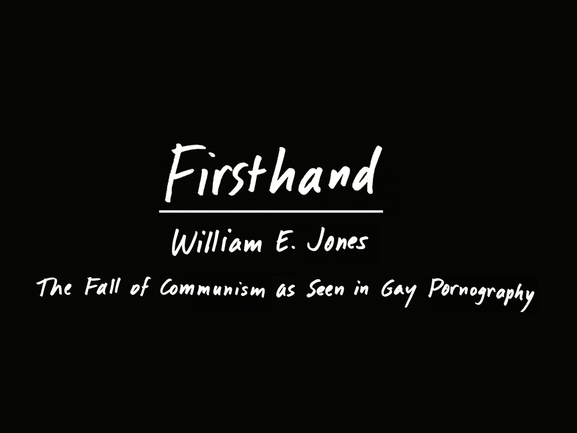 Firsthand: William E. Jones