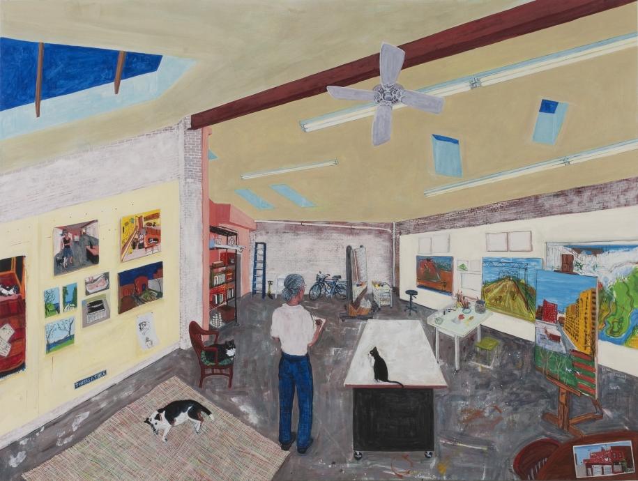 Sarah McEneaney Trestletown Locks Gallery