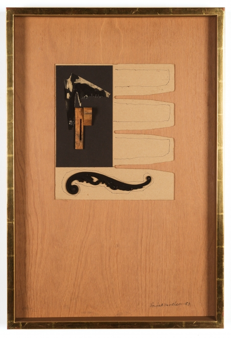 Louise Nevelson Locks Gallery Collages