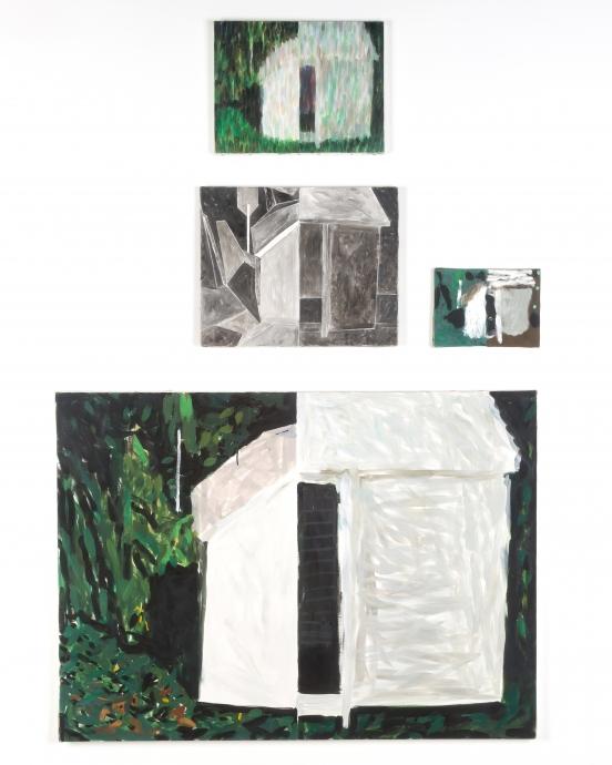 Jennifer Bartlett Locks Gallery House with Open Door # 10
