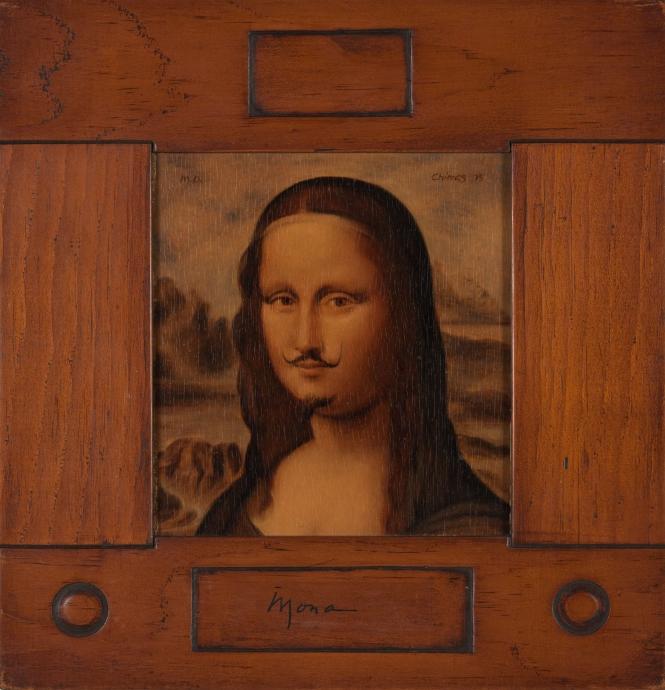 Thomas Chimes mona duchamp portrait Locks Gallery