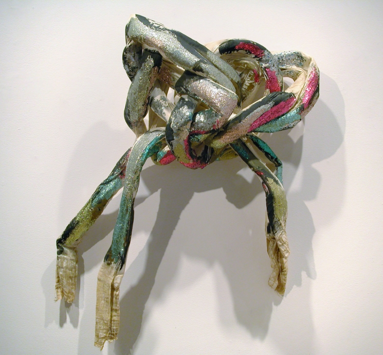 Lynda Benglis knot Locks Gallery