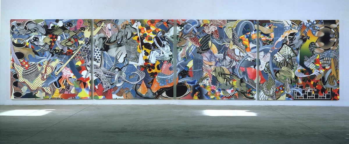 Frank Stella Locks Gallery