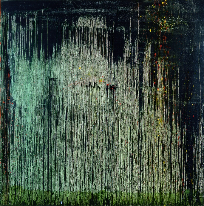 Pat Steir Locks Gallery Araby