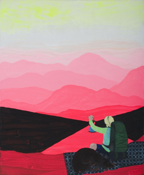 Joy Feasley painting Locks Gallery