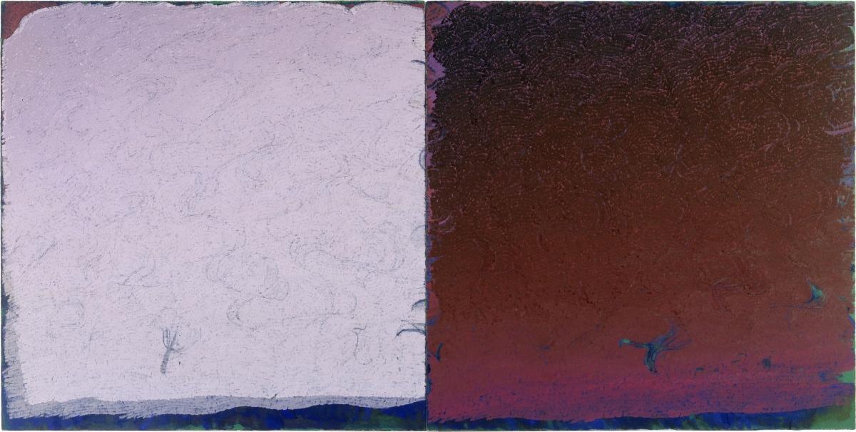 Warren Rohrer locks gallery painting