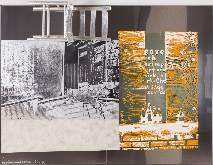 Edition/Addition Locks Gallery Robert Rauschenberg Pegasits