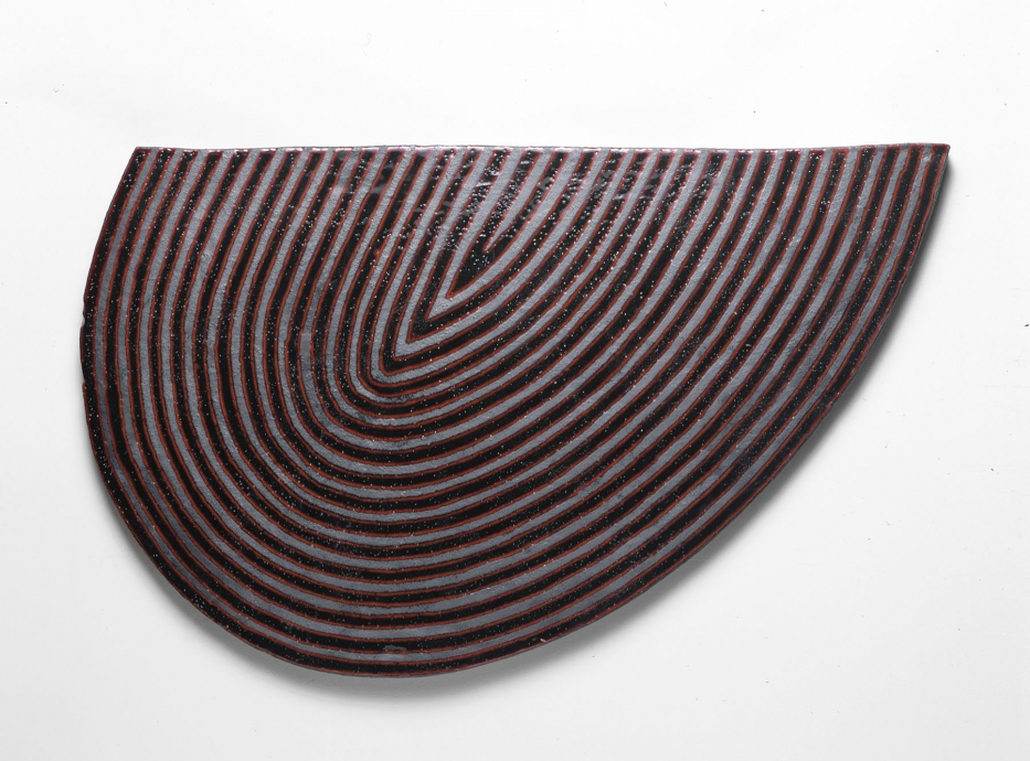 Jun Kaneko wall slab Locks Gallery