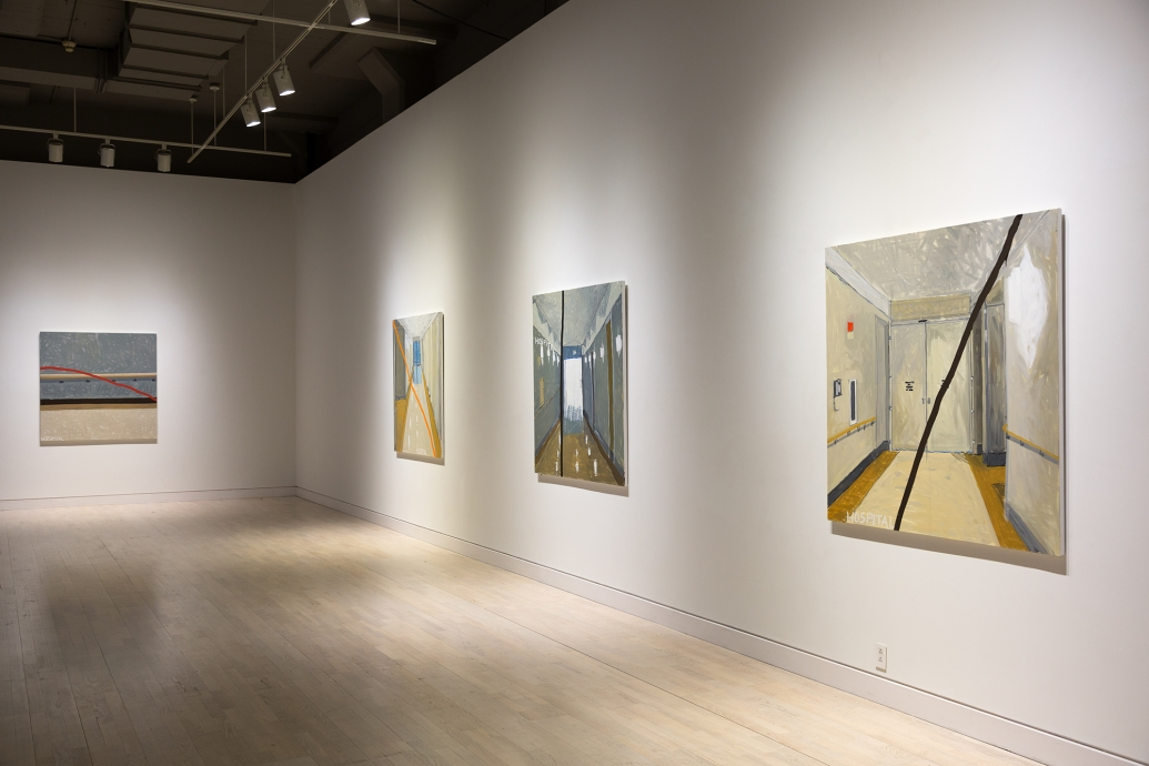 Jennifer Bartlett Hospital Paintings Locks Gallery
