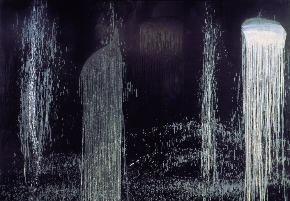 Pat Steir Locks Gallery Waterfall of Fundiments