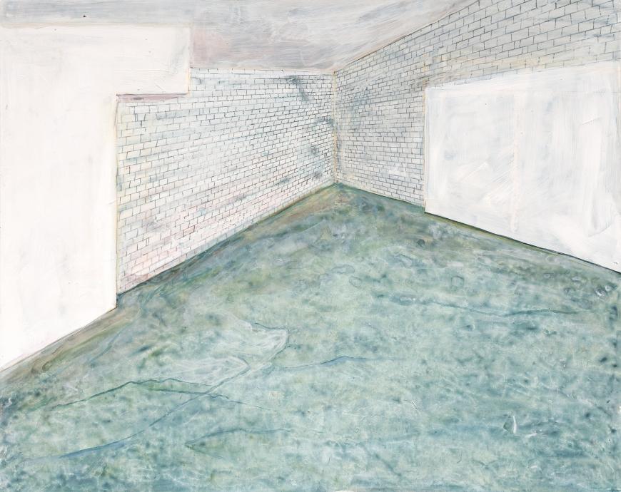 Sarah McEneaney Locks Gallery Painting Empty Studio