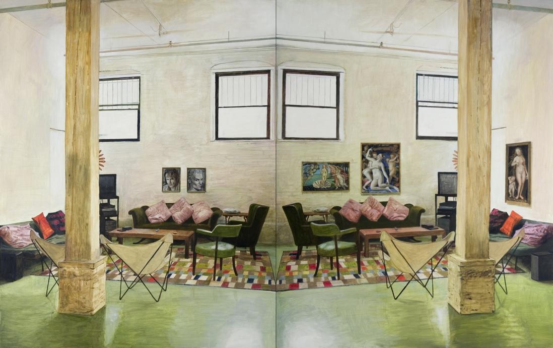Ellen Harvey Private Collection Ground Floor of 111 North 10th St Locks Gallery