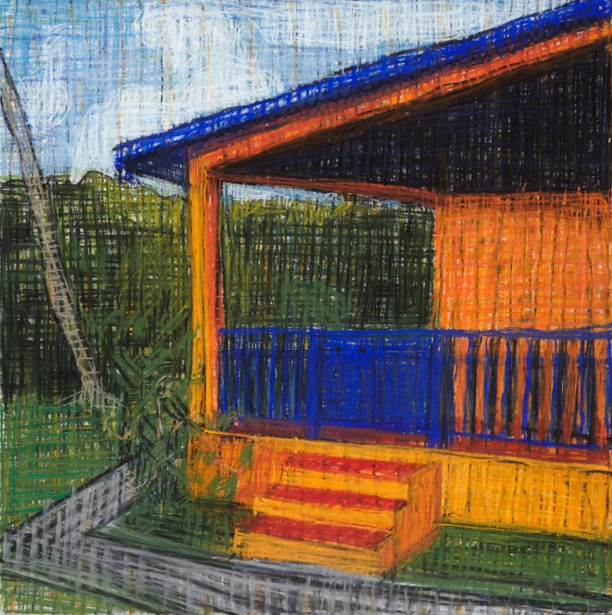 Jennifer Bartlett Locks Gallery pastel on paper