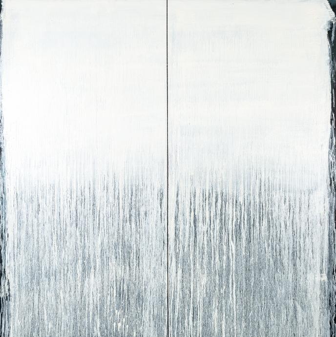 Pat Steir Locks Gallery Little Snowstorm