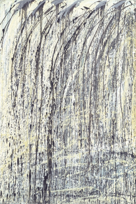 Pat Steir waterfall Locks Gallery
