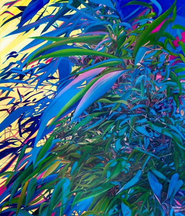 Kate Bright Locks Gallery Blue Bamboo