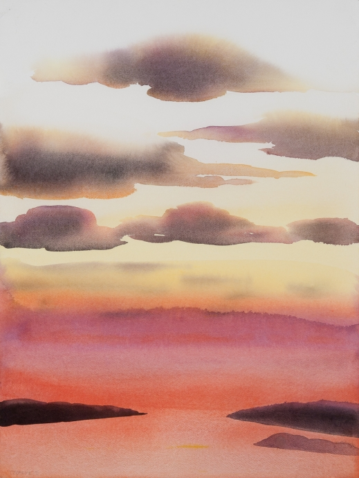 Elizabeth Osborne watercolor Locks Gallery