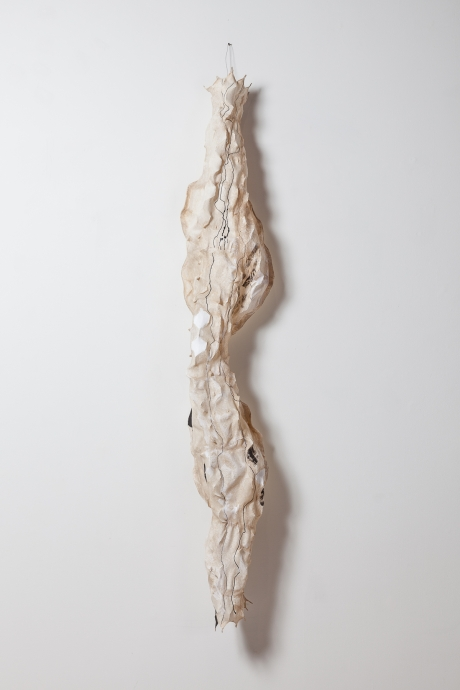 Lynda Benglis Locks Gallery paper sculpture
