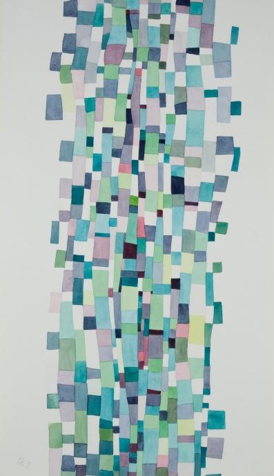 Edna Andrade work on paper Locks Gallery