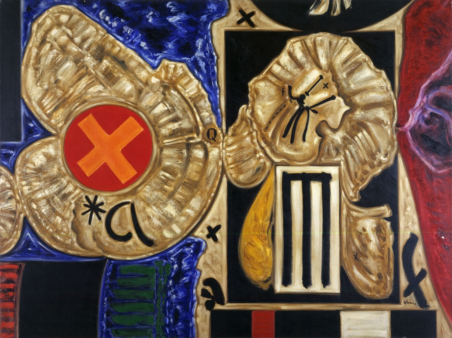 Thomas Chimes painting Locks Gallery