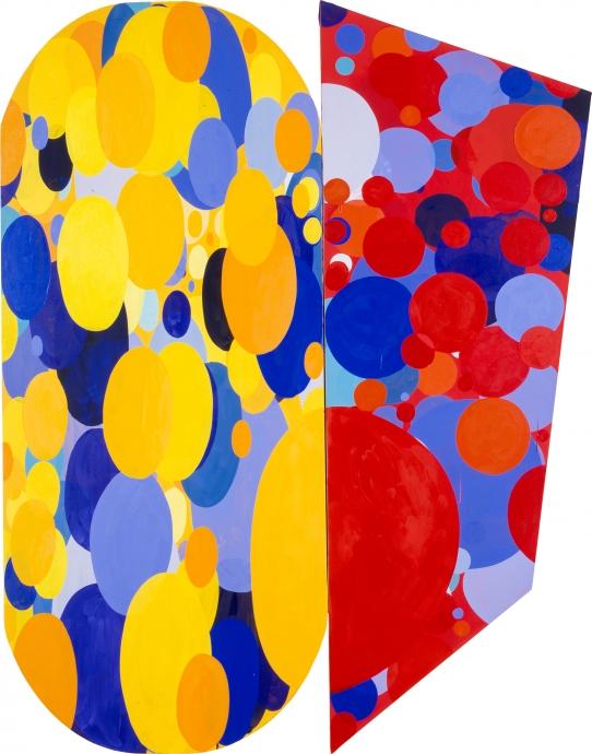 Shape Paintings Locks Gallery Jennifer Bartlett