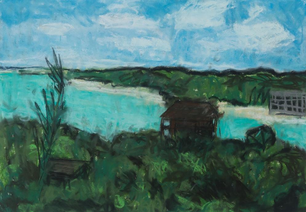 Jennifer Bartlett Locks Gallery Pastels