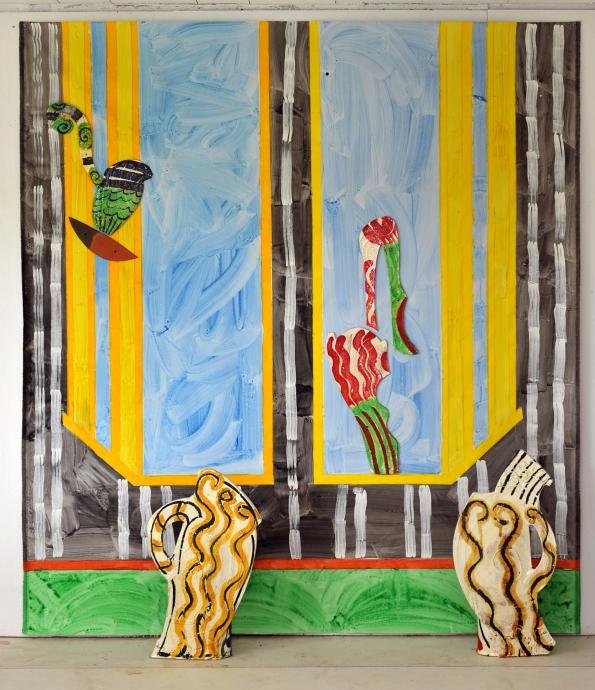 Betty Woodman Locks Gallery Antony and Cleopatra