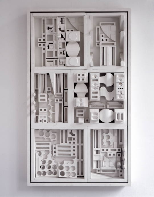 1968 Locks Gallery Louise Nevelson Dawn's Landscape XXXVIII