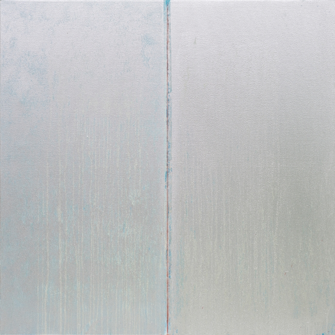 Pat Steir All Silver