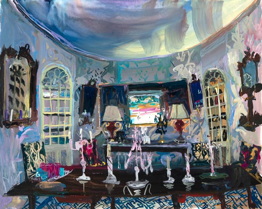Locks Gallery Jane Irish Oval Dining Palazzo Townsend