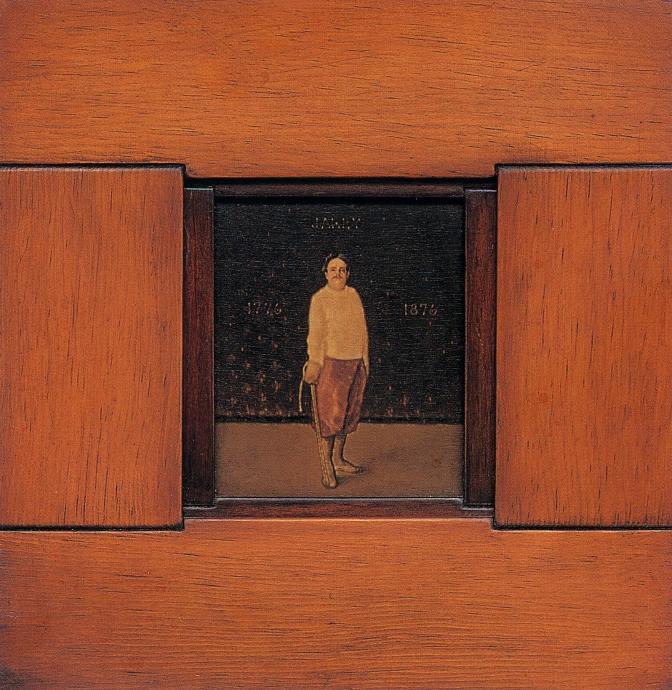 Thomas Chimes Jarry portrait Locks Gallery