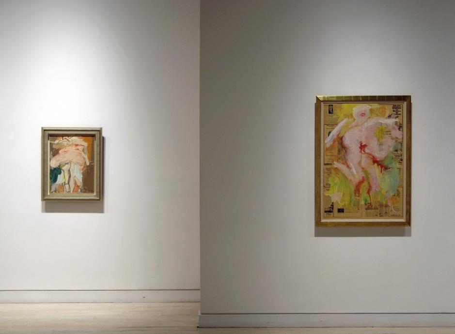 Bodies of Desire Works on Paper by Willem de Kooning and Chloe Piene Locks Gallery