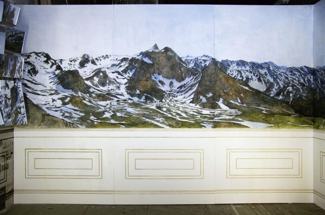 Ellen Harvey sublime wallpaper Locks Gallery