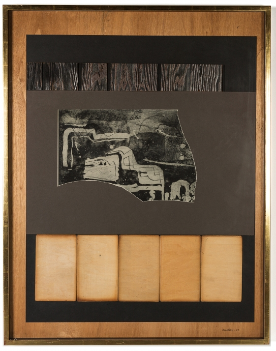 Louise Nevelson Collages Locks Gallery