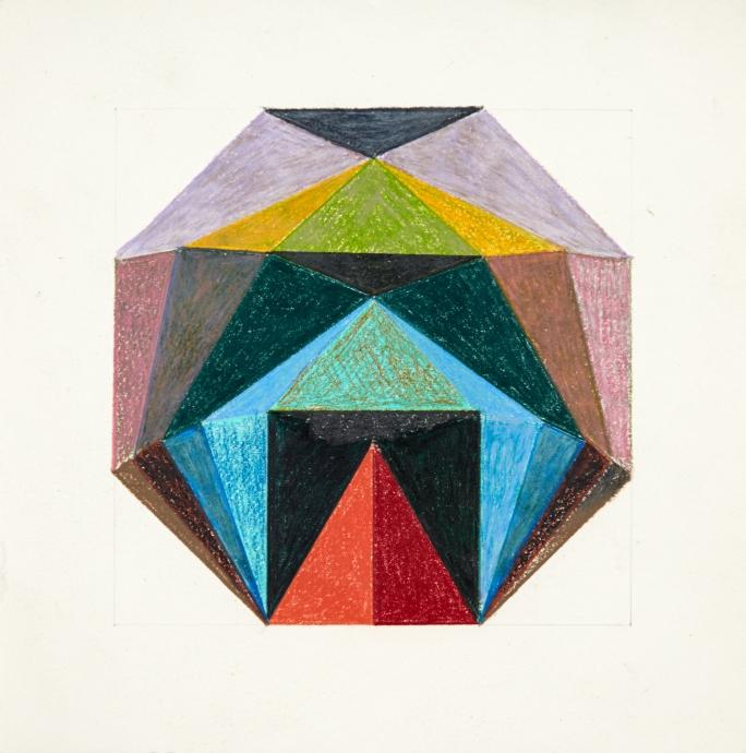 Edna Andrade drawing Locks Gallery