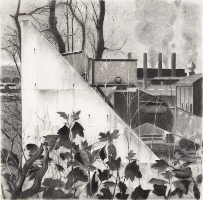 John Moore drawing Locks Gallery