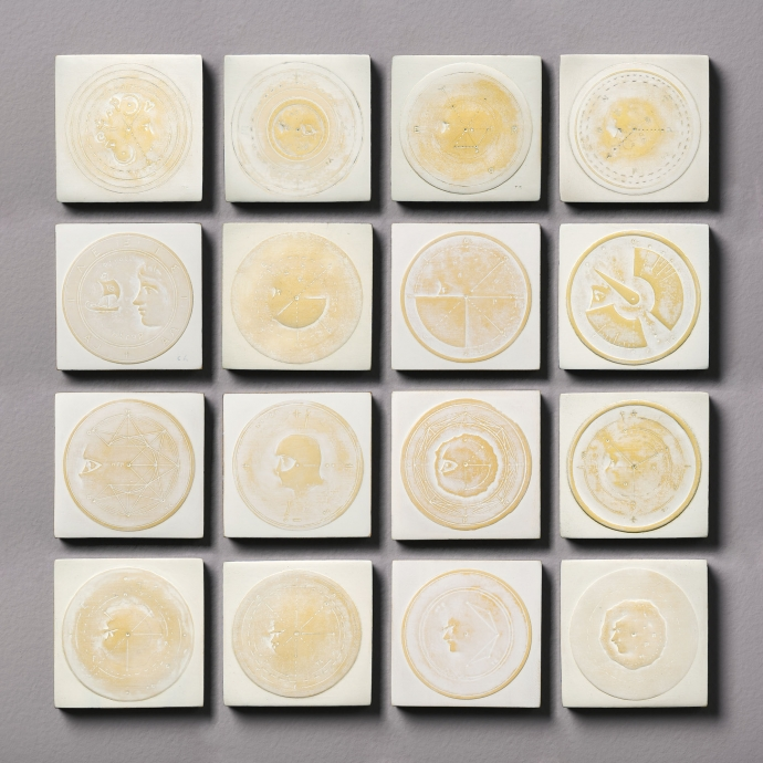 Thomas Chimes White Painting Locks Gallery