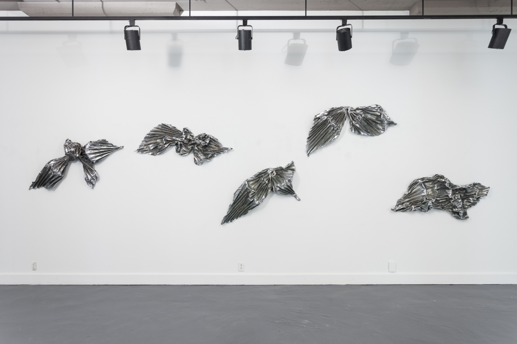 Lynda Benglis Locks Gallery Kearny Street Bows and Fans