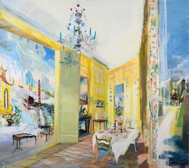 Jane Irish painting Locks Gallery