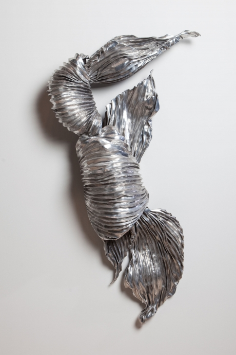 Lynda Benglis pleat Locks Gallery