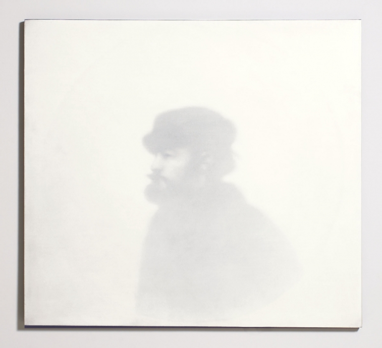 Thomas Chimes white painting Satie