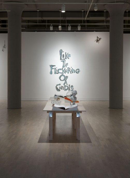 Rob Wynne Locks Gallery Like the Flickering of a Candle