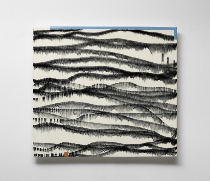 Jun Kaneko Wall Slab