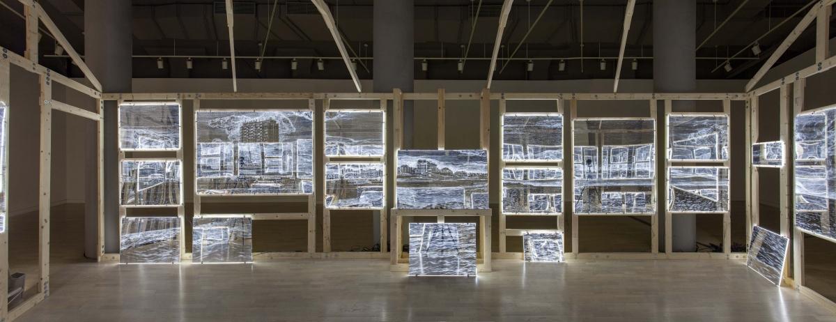 Ellen Harvey Arcade/Arcadia Locks Gallery