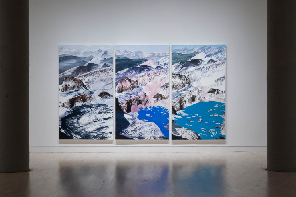 Diane Burko Locks Gallery Politics of Snow