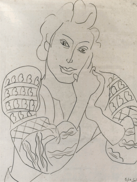 Drawing Locks Gallery Henri Matisse Blouse Romaine