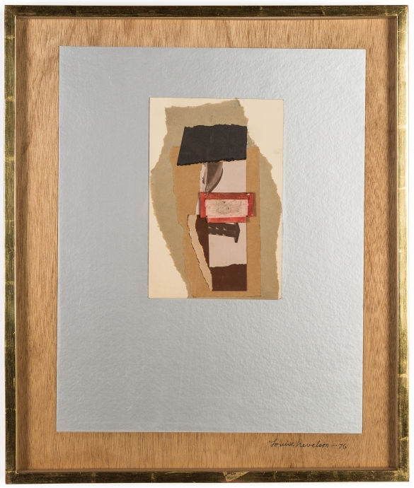 Locks Gallery Louise Nevelson Collages