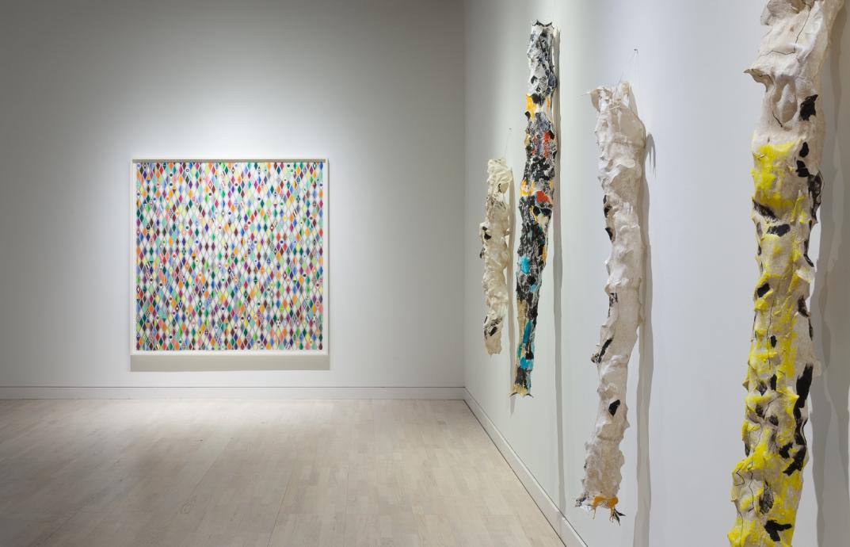 Lynda Benglis Polly Apfelbaum Locks Gallery