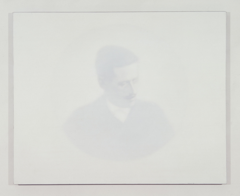 Thomas Chimes white painting Joyce